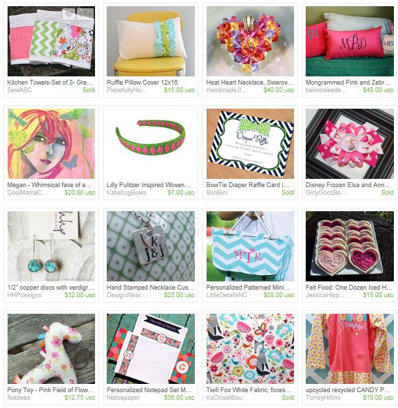 Raleigh Etsy Shop Owners
