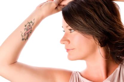 Breast Cancer Nipple Tattoo, Tara Dunsmore