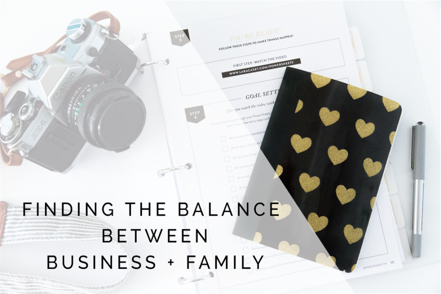 Finding The Balance Between Business + Family | Amber Foster Smith Photography Raleigh