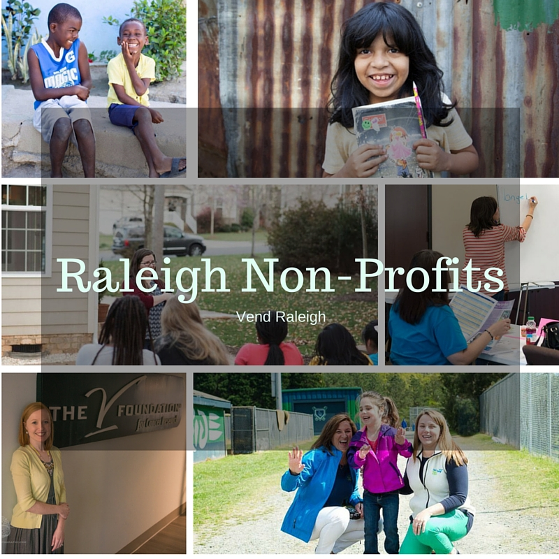Raleigh Non-Profits shared with Vend Raleigh readers.